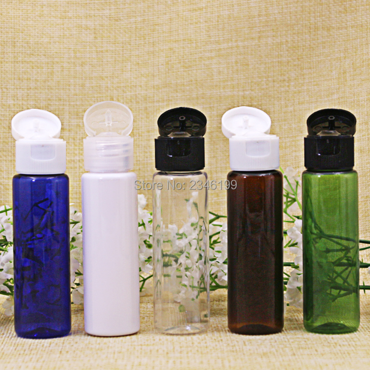 Plastic Bottle 30ml Flip Cover Bottle Empty Cosmetic Packaging Empty Plastic Transparent Cap Packing Cosmetic Container (2)