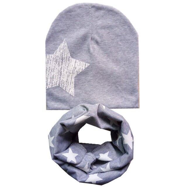 grey hat scarf