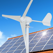 Green energy wind power generator with goodlooking 300w 12/24v controller provided