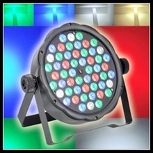 EU/US Plug 54 RGBW LED Par Light 8CH LED Par 64 DMX Stage Lighting DISCO Lighting for Party Show
