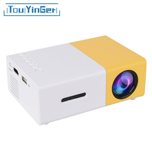Touyinger Mini Portable Pocket LED Projector Beamer YG300 YG310 LCD Video Proyector Gift Toy For Kids With HDMI /SD/USB