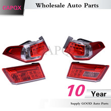 4PCS/set  High quality LED rear taillights FOR HONDA SPIRIOR 2013 2014 ,FOR Europe ACCORD CU2 Tail lights