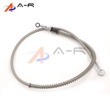 10mm Hydraulic Brake Hose Brake Oil Hose Line For ATV Dirt Street Racing 390 450 500 550 600 650 700 750 800 850 950 1000mm(China)