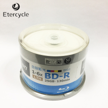 25GB 50x Recordable bd-r blu ray blank discs blu-ray disc(China)