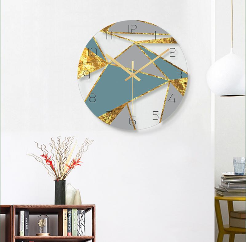 Clocks Home Decor Bathroom Clock Wall Clock Silent Clock Mechanism Silent Wall Clock Wall Clock Wood Digital Wall Clock Led 3d Led Wall Clock Barber Shop Modern (9)
