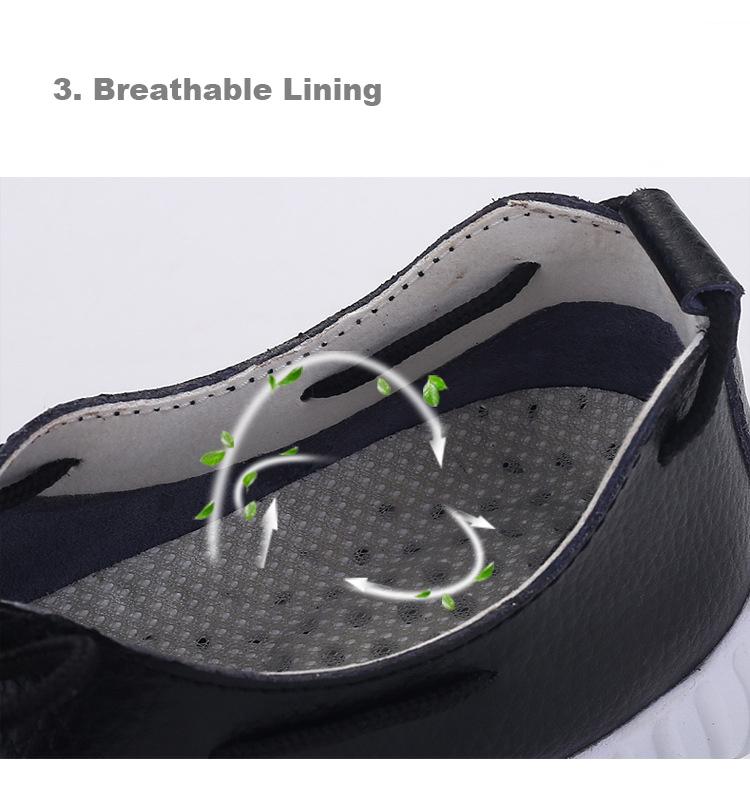 AH 2816 (6) Women's Leather Flats Shoes