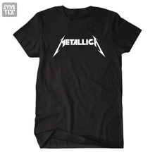 New 2017 men and women  short sleeve heavy metal band music Metallica rock and roll clothes jerseys concert tee t shirt
