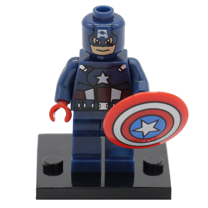 Captain America Figure XINH 001 Marvel Super Heroes The Avengers Mini Building Block Sets Model Bricks Toys For Children<br><br>Aliexpress