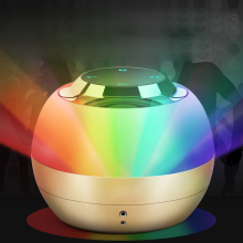 TOPROAD LED Light Touch Travel Speaker Wireless Bluetooth Speakers Mini Stereo Bass Music Column Handsfree Mic TF caixa de som