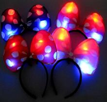 Ailin Cloth headband Concert bar props props Hot Christmas toys wholesale LED Flashing light party  decoration
