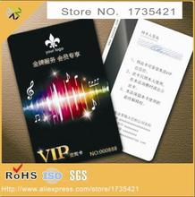 (1000pcs/lot)Professional PVC/ plastic name card / rfid name card maker shenzhen(China)