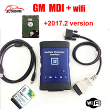 Top selling GM MDI wifi hdd 2017.2 optinal Multiple Diagnostic Interface gm mdi Diagnostic Tool with free DHL Shipping(China)