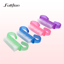 Fulljion 1pcs Cleaning Nail Brush Tools File Nail Art Care Manicure Pedicure Soft Remove Dust Small Angle Clean For Nail Makeup(China)