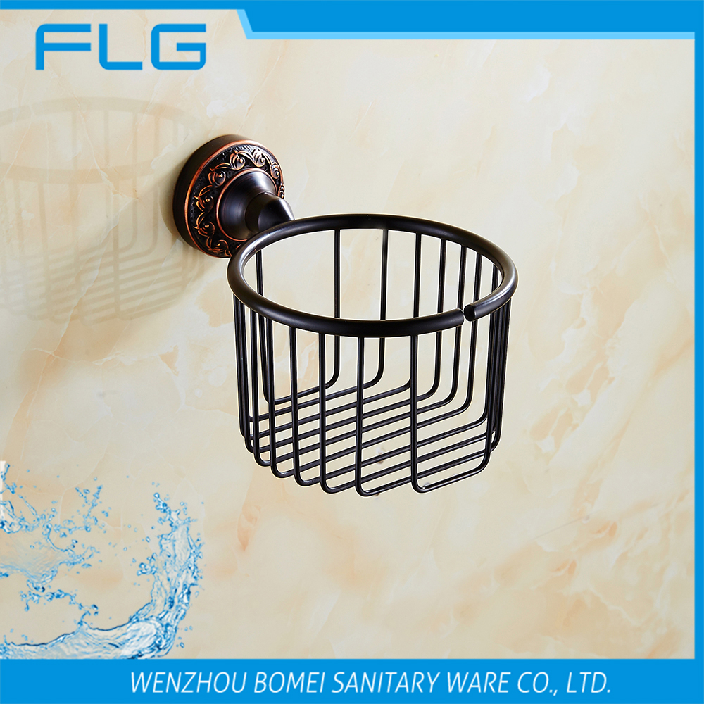 FLG5455 Basket Paper Holder Wall Mounted Oil Rubbed Bronze Art Curving Base Paper Holder<br><br>Aliexpress