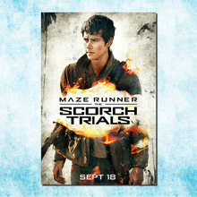 Maze Runner 2 - The Scorch Trials Hot Movie Art Silk Canvas Poster Print 13x20 24x36inch Pictures Room Decor (more)-7(China)