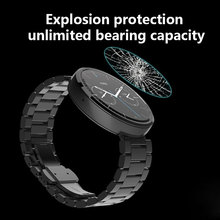 New Premium Tempered Glass Skin Screen Protector Guard Film HD for Samsung Galaxy Gear S3 Watch Durable