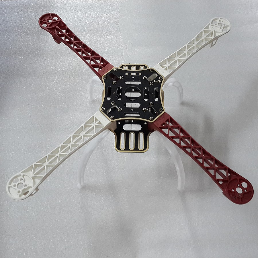 450 Quadcopter Frame Kit 4-Axis F450 Nylon Fiber PCB Quadcopter Frame Kit 450mm W/ Landing Gear Skid White<br><br>Aliexpress