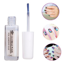 Wholesale Women's Fashion 1PC White Glue Adhesive for Star Foil Sticker Nail Art Transfer Tips Decorations Accessories(China)