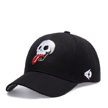 Fashion New Arrival Snapback Hat Bone Snap Back gorras Men Hip Hop Cap Baseball Cap Fashion Skull Flat-brimmed Hat(China)