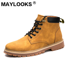 Martin boots men's British wind 캐주얼 공구 shoes youth trend wild 마틴 shoes men's shoes M-A888(China)