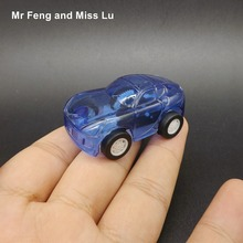 Collectible Car Model Pull Back Vehicle Model Kids Toys Gifts Blue
