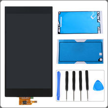 For Sony Xperia Z Ultra XL39h XL39 C6802 C6806 LCD Display Touch Screen Digitizer Full Assembly+Tools+2 Adhesives Free Shipping