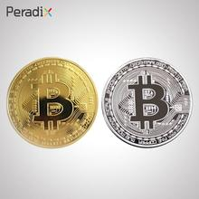 Buy 1x BTC Coin Art Collection Bitcoin Coin Gold Plated Physical Collectible Gifts gold silver Bitcoin for $1.80 in AliExpress store