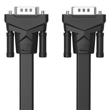 Vention VGA to VGA Flat Cable Male to Male 15 Pin Extension Monitor Cable High Premium HDTV VGA Cabo 1m/2m/3m/5m/8m(China)