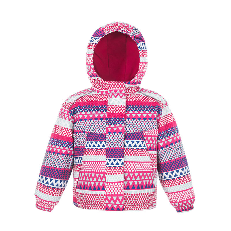 Winter Outdoor Girls Skiing Jackets Kids Waterproof Ski Jackets Children Windproof Warm Hooded Snowboarding Sports Coat<br>