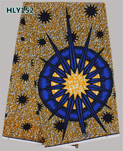 Indian design Good quality Wax! Top service african Wax fabric for bag / clothing   HLY152