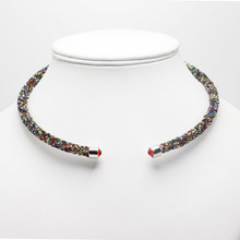 2017 fashion Crystal Necklace Full Rhinestone Crystal Paved necklaces for Women gift Magnetic Clasp Hot Sell Factory Outlets