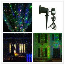 2016 new products IP 65 outdoor Christmas star projector laser light shower Moving Twinkle RGB Light Projector Landscape light