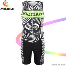 Factory direct clothing Malciklo 2017 Cycling Jersey set Sleeveless Bicycle Jumpsuit High-quality Elastic Fit Men's Coveralls