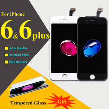 AAAAA For iPhone 6 6 Plus LCD Display Touch Screen Digitizer Assembly Phone Replacement Parts LCD For iPhone 6 6 Plus Screen