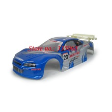 HENGLONG 3851-1 RC EP car Lightning 1/10 spare parts No. 10015 Blue Car body shell / car shell / car body