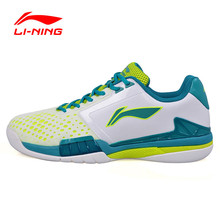 Li-Ning Men's Professional Tennis Shoes Breathable Balanced Support Gym Sneaker Shock-Absorbant Sport Athletic Lining tenis Shoe(China)