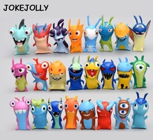 2017 New 24pcs/set 5cm Anime Cartoon Slugterra Mini PVC Action Figures Toys Dolls Child Toys GYH