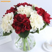 Festive Party Supplies Artificial Decorations Flowers Color cloth Simulation Hydrangea Flower Ball 15pc/lot(China)