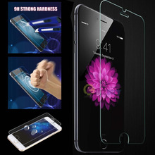 ON SALE 0.3mm 9H Tempered Glass For iPhone 5 5s 5c SE 4 4s Screen Protector For Iphone 6 6s 7 plus Protective Anti Shatter Film