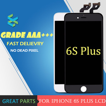 5PCS Grade AAA Top Highscreen For iPhone 6S Plus LCD Screen for Top Pantalla Display Good 3D Touch Screen Digitizer Assembly