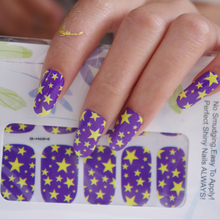 wholesale Health Nail foil care full tip sticker with self-adhesion Nail art beauty patch decoration 500packs/lot free shipping