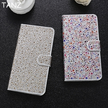 Buy TANZ iPhone 8 Case Full Bling Glitter Diamond Leather Flip Case Apple iPhone 6 6S 7 Plus Wallet Stand Phone Cover Coque for $6.97 in AliExpress store