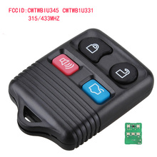 FGHGF Remote Key Transit Keyless Entry Fob 4 Button 315MHz / 433mhz For Ford complete remote control , Circuid Board included