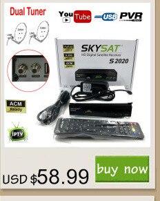 [Genuine]Freesat V7 HD Full 1080P Satellite Receiver TV Tuner 1PC USB WiFi DVB-S2 Support Cccam Newcam youtube set top box
