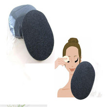 New Bamboo charcoal Facial Cosmetic Puff Face Wash Discharge Cleansing Sponge