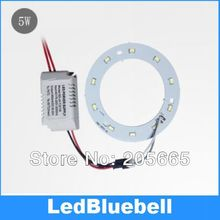 5W 5730 LED light source LED ceiling light panels transform light bulb ring with power supply AC85~265V Input