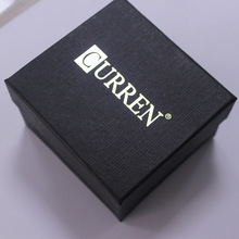 CURREN Brand Watch Box White Paper Materal Gift Watch Box with Pillows