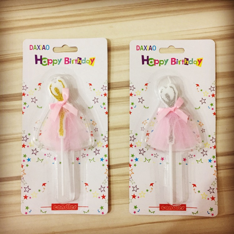 3pcs birthday candle gold star topper for kids happy birthday party birthday cake topper Bougie long 12cm