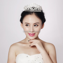 HG089 new crown bridal headdress alloy jewelry accessories factory direct wedding acessorios para cabelo tiara crown