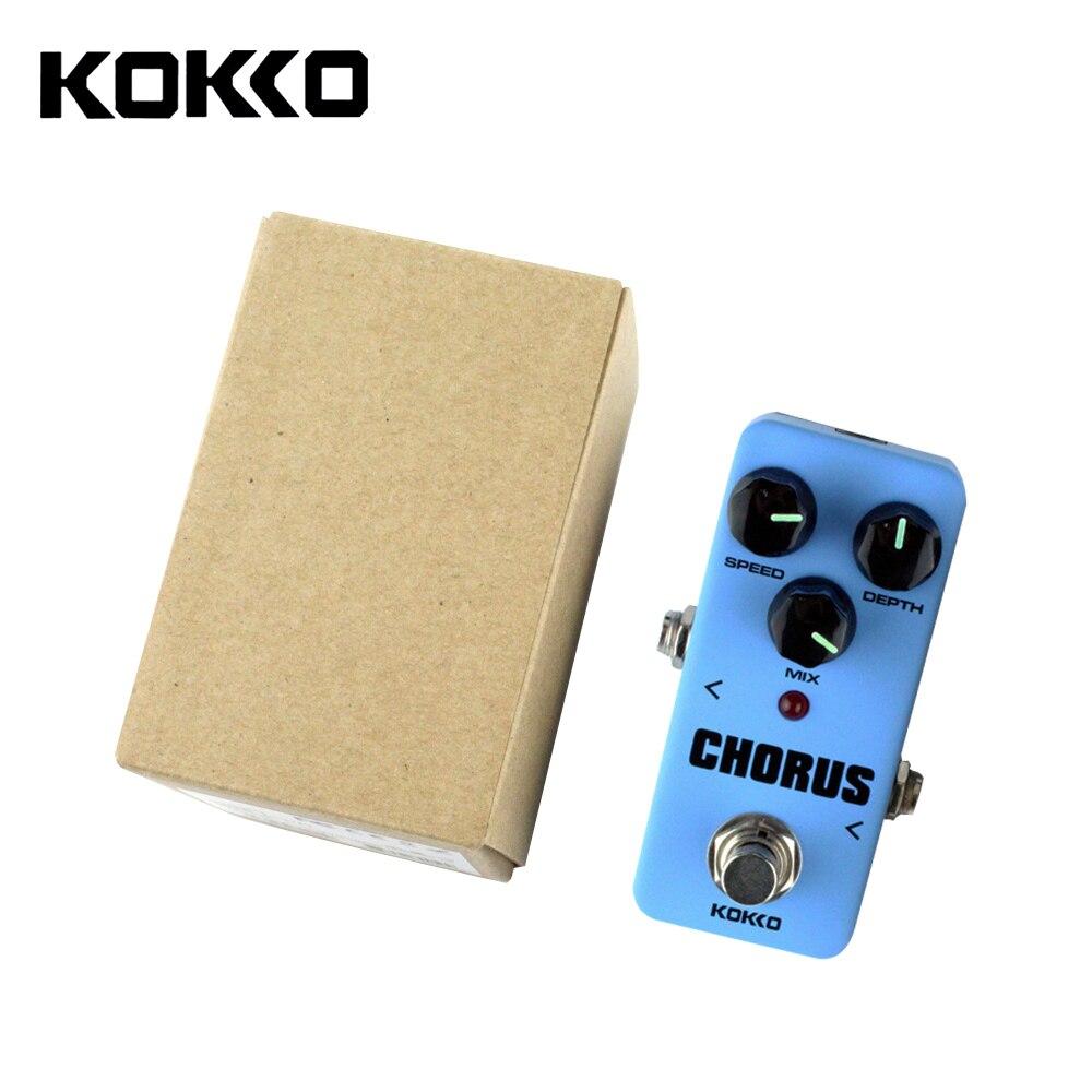 KOKKO FCH-2 Mini Guitar Effect Pedal Guitarra High-Power Tube Guitar Simulation Chorus Effect Device<br>
